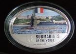 """Набор монет """"Субмарины мира"""", 2010 г., фото №6"""