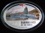 """Набор монет """"Субмарины мира"""", 2010 г., фото №7"""