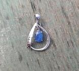Кулон с натуральным опалом, серебро(лот 2), фото №2