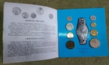 Набор обиходных монет 1996 год картон, фото №5