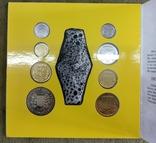 Набор обиходных монет 1996 год картон, фото №10