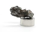 Залізний метеорит Campo del Cielo, 1,5 грам, із сертифікатом автентичності, фото №10