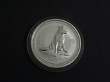 Австралия, 1-й Лунар Год Собаки, 2006 - 1/2 унции, серебро 999, 50 центов, фото №2