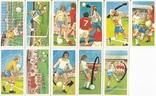 """Карточки-вкладыши коллекционные """"Play Better Soccer""""(29 листов) Англия, фото №3"""