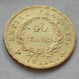 40 франков 1811 Франция Наполеон I золото 12.82 г, фото №3