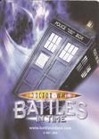 """43.Карточки детские коллекционные """"Doctor Who.Battles in time"""" (58 листов) Англия, фото №2"""