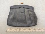 Старинная сумочка. Кожа. Винтаж. Германия., фото №2