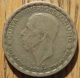1 крона 1949 Швеция, фото №3