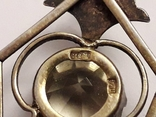 Срібний кулон СРСР, фото №5