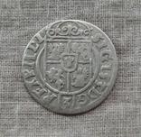 Полторак ( 1/24 талера ) 1623 года. Сиг. ІІІ Ваза. POL(L)O., фото №4