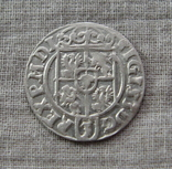 Полторак ( 1/24 талера ) 1623 года. Сиг. ІІІ Ваза. REGPOLO ( Без Разделительных Знаков )., фото №4