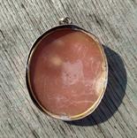 Камея с профилем вакханки, Европа, XIX век., фото №7