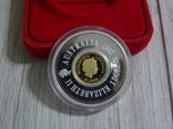 """Австралия, ЛУНАР - """"дырявый доллар"""" +25 центов - серебро 999, ПОЛНЫЙ КОМПЛЕКТ, фото №3"""
