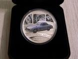 Mercedes-Benz 300 SL Gullwing - серебро, унция, 1 доллар - ПОЛНЫЙ КОМПЛЕКТ, фото №3