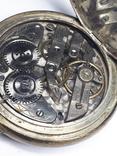 """Swiss pocket watch. Часы карманные. Швейцария. Тематические """"Охота""""., фото №9"""