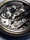 """Swiss pocket watch. Часы карманные. Швейцария. Тематические """"Охота""""., фото №11"""