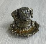 Пепельница СССР. Собака, фото №2