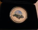Классические спидстеры 30-х годов - Аубурн - серебро, унция, 2 доллара - ПОЛНЫЙ КОМПЛЕКТ, фото №3
