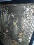 Божья Матерь старая икона, фото №3