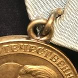 Медаль Партизан 2 степени Копия, фото №7