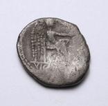 Марк Порцій Катон, 89р. до н.е. срібний квінарій, м.Рим., фото №8