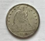 1 доллар 1841 года. Копия., фото №3