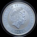 1 Доллар 2016 Коала 1oz, Австралия Унция, фото №3
