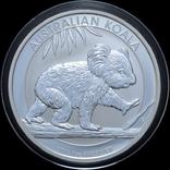 1 Доллар 2016 Коала 1oz, Австралия Унция, фото №2