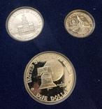 США 1976 набор ПРУФ серебро 200 лет Независимости, фото №4