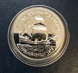 Канада 1 доллар 1979 серебро Парусник ,,Гриффон,, ПРУФлайк, фото №2