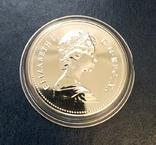 Канада 1 доллар 1979 серебро Парусник ,,Гриффон,, ПРУФлайк, фото №3