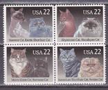 США кошки MNH, фото №2