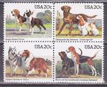 США собаки MNH, фото №2
