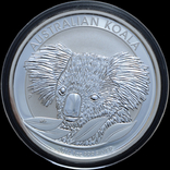 1 Доллар 2014 Коала 1oz, Австралия Унция, фото №2
