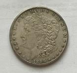 1 доллар 1896 года. Копия., фото №3