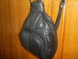 Рюкзачок кожаный маленький, фото №5