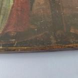 Распятие с Богородицей и Иоанном Богословом. 1858г. Подписная. Подпись художника., фото №7