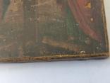 Распятие с Богородицей и Иоанном Богословом. 1858г. Подписная. Подпись художника., фото №12