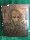 Икона Святой Николай ХIХ век., фото №2