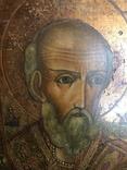 Икона Святой Николай ХIХ век., фото №4