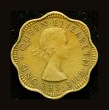 Британский Цейлон 2 цента 1955, фото №3