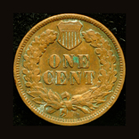США цент 1890, фото №3