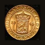 Нидерландская Ост Индия 1/2 цента 1945, фото №2