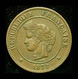 Франция 5 сантим 1872, фото №2