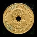 Британская Новая Гвинея пенни 1936 Эдвард VIII, фото №3