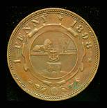 Южная Африка пенни 1898 Крюгер, фото №2