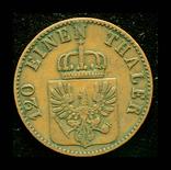Пруссия 3 пфеннига 1864, фото №3