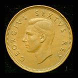 Южная Африка пенни 1950, фото №2