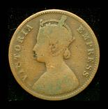 Британская Индия 1/4 анны 1884, фото №2