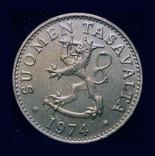 Финляндия 50 пенни 1974, фото №3